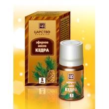 Эфирное масло Кедр 5 мл Царство ароматов