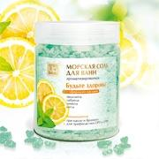 Будьте здоровы соль крымская морская ароматическая для ванн 500гр Царство ароматов купить