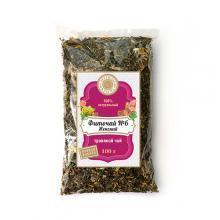 Фиточай №6 Женский Чай в пакетах 100г Флорис