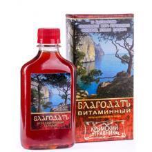 Питьевой бальзам БЛАГОДАТЬ (витаминный), 200мл. КТ