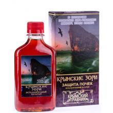 Питьевой бальзам КРЫМСКИЕ ЗОРИ защита почек 200мл Крымский травник купить