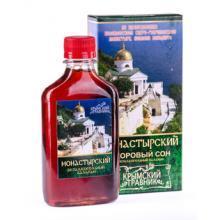 Питьевой бальзам МОНАСТЫРСКИЙ (здоровый сон), 200мл. КТ