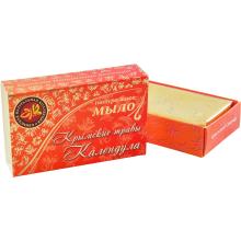 Натуральное мыло ручной работы Календула 75г Крымская натуральная коллекция купить