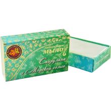 Натуральное мыло ручной работы Спирулина с морской солью 75г Крымская натуральная коллекция купить