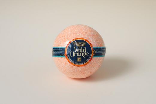 Бомбочка для ванн Wild orange 200г Царство ароматов купить