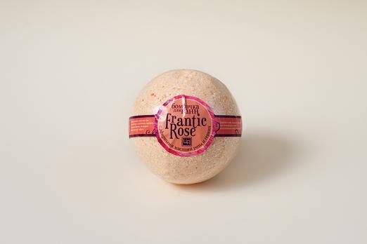 Бомбочка для ванн Fantastic rose 200г царство ароматов косметика