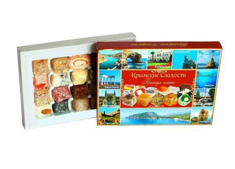 Крымские сладости города красная упаковка 350гр Крымский десерт купить