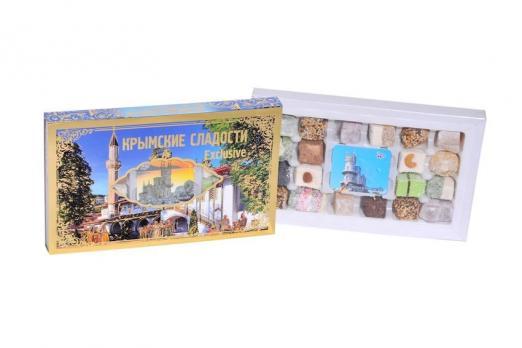 Крымские сладости эксклюзив Gold Бахчисарайский дворец 370гр Крымский десерт купить
