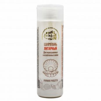ЭкоШамунь Янтарный для пересушенных и ослабленных волос скифия косметика
