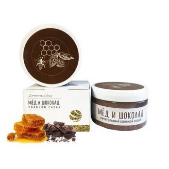 Скраб для тела мед и шоколад 250 гр ДМ