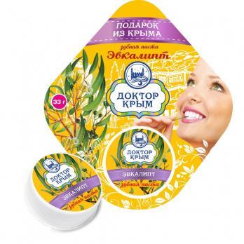 Крымская Зубная паста с эвкалиптом