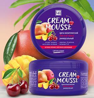 Крем Cream-Mousse для всей семьи 220 г Царство ароматов