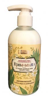 Крем-мыло Увлажняющее алое вера и ромашка 300мл. ФЗ
