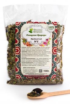 Очищение природы чай 100г Крымские традиции