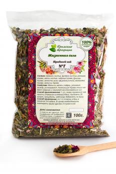 Жизненная сила чай 100г Крымские традиции