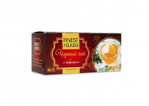 Черный чай с чабрецом ф/п