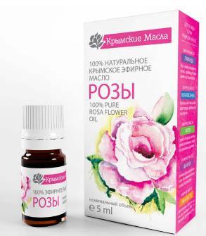 Роза эфирное масло 5 мл Крымские масла купить