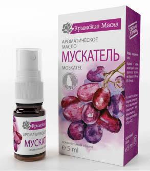 Ароматическое масло Мускатель спрей Крымские масла купить