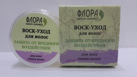 Воск для волос Защита от вредного воздействия Флора