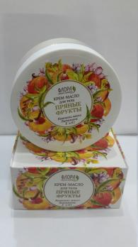 Крем-масло для тела Пряные фрукты Флора