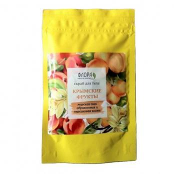 Сухой скраб Крымские фрукты витаминный 150г. Флора