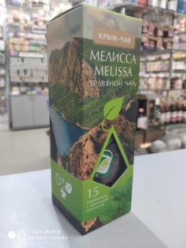 Чай в пирамидках Крым Чай Melissa 15 пак
