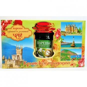 Чай с Травами+Варенье из Грецкого Ореха Восточный букет