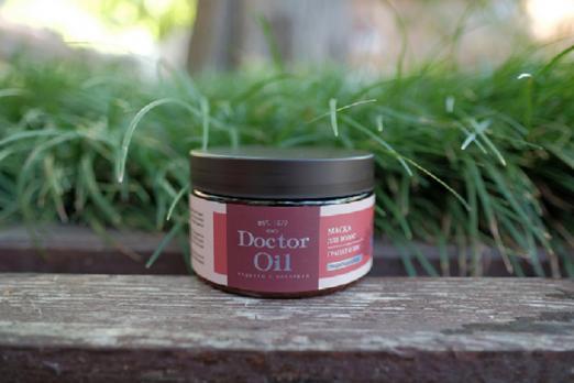 Маска для волос Сlassic придающий блескГранат и ши 250 мл  Doctor Oil