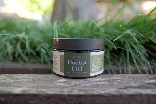 Маска для волос Classic восстанавливающий Зеленый чай и пшеница 250 мл Doctor Oil