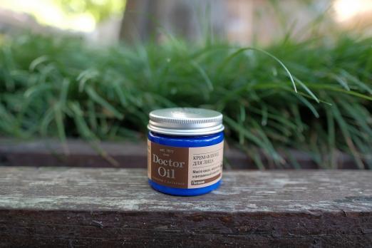 Крем-флюид для лица Питание и комфортс маслом какао  ши и витаминным комплексом50 мл Doctor Oil