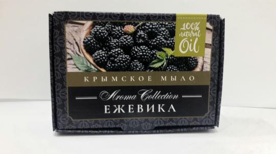 Мыло натуральное Ежевика 50г Флора косметика купить