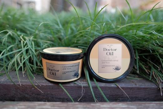 L'C Fresh Time Сахарный скраб для тела С натуральным соком дыни 280г Doctor Oil