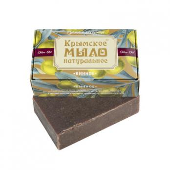 Крымское мыло натуральное Винное  100гр Дом природы купить