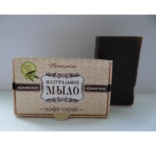Мыло натуральное Кофе-скраб 50 гр Крымская линия купить