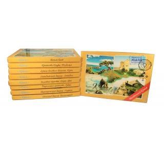 Сувенирный набор  мыла Почтовый Южный берег Крыма 200г 4шт по 50гр Дом природы купить
