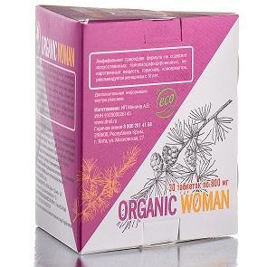 ORGANIC WOMAN 30 таблеток по 800 мг Doctor Oil