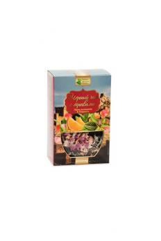 Черный чай с травами. Судак Заряд витаминов & Бодрость КРЫМСКИЕ ТРАДИЦИИ  50гр