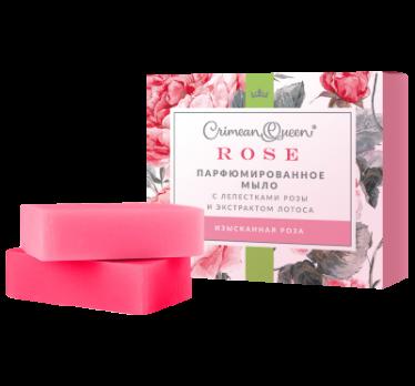 Набор Парфюмированного мыла Изысканная роза Дом природы