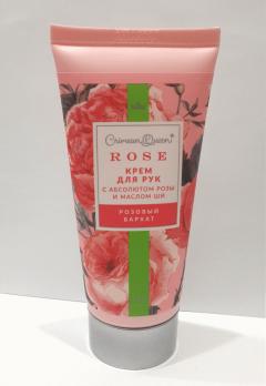 Крем для рук Розовый бархат с маслом ши и абсолютом розы Дом природы