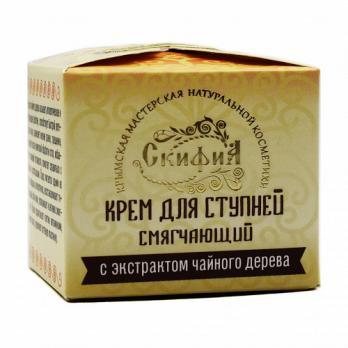 Крем для ступней с экстрактом чайного дерева 50мл Скифия