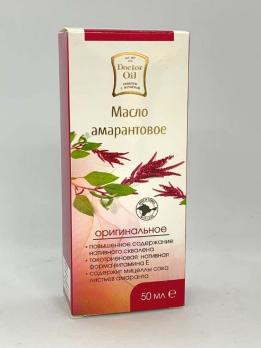 масло амарантовое 50 мл доктор оил