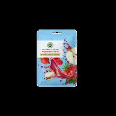 Тканевая маска для лица Клубника яблоко малина Крымская натуральная косметика