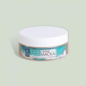 Скраб-маска для волос Seaweed Hair Collection Крымская натуральная коллекция