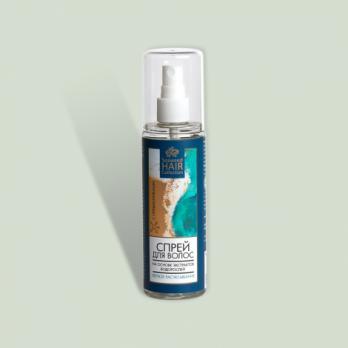 Спрей для волос на основе экстрактов водорослей Легкое расчесывание Seaweed Hair Collection Крымская натуральная коллекция