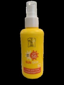 Солнцезащитный спрей spf 50 SunSkin Doctor Oil Доктор Ойл купить
