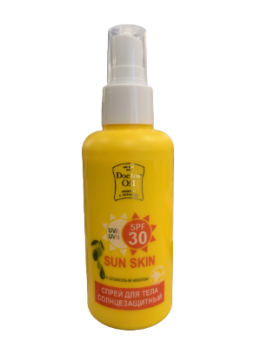 Спрей солнцезащитный с оливковым маслом SPF 30 150 мл Doctor Oil купить косметика крыма