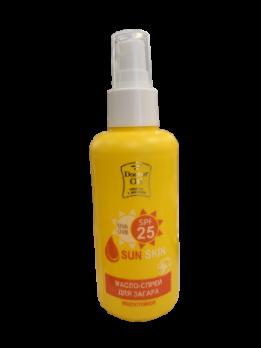 Масло-спрей для загара водостойкий SPF 25 150 мл Doctor Oil косметика