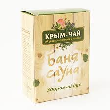 Чай для сауны и бани «ЗДОРОВЫЙ ДУХ» Крым чай