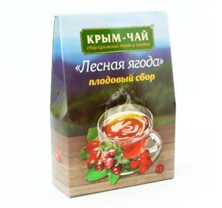 Крым чай плодовый сбор «ЛЕСНАЯ ЯГОДА» 130гр