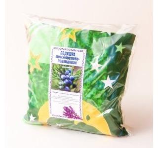 Подушка Можжевелово-лавандовая 21 см на 21см Травы горного крыма купить